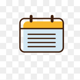 Calendar clipart cute. Png images vectors and