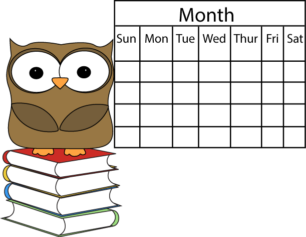 Calendar Cute Clipart