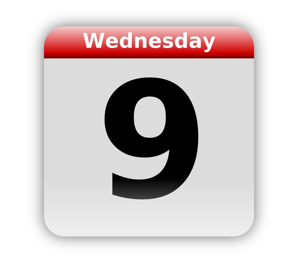 Calendar clipart date. Onlinelabels clip art icon