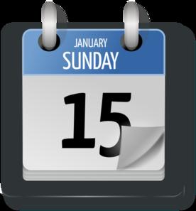 Calendar clipart day. Clip art at clker