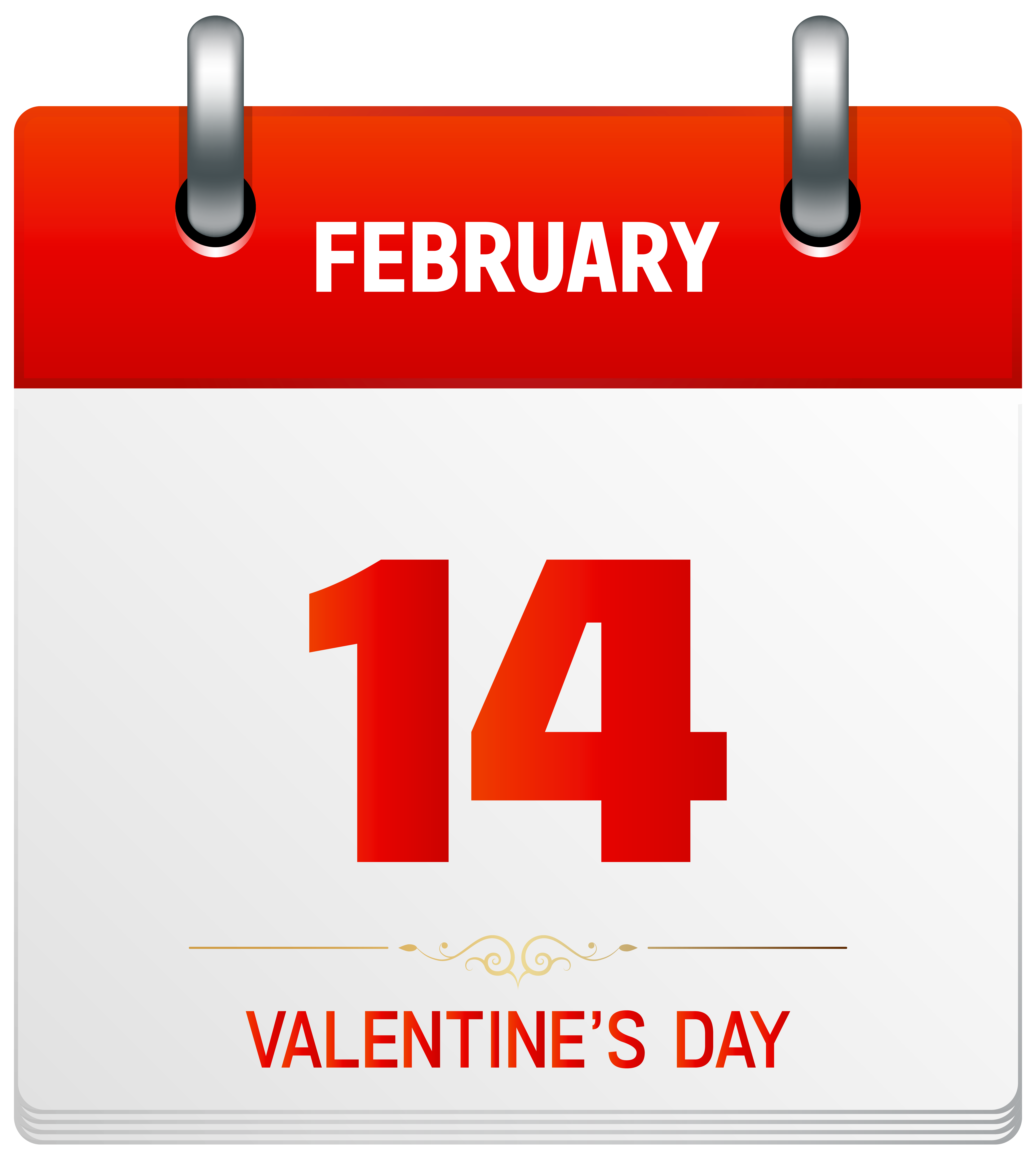 Valentine s transparent png. Calendar clipart day