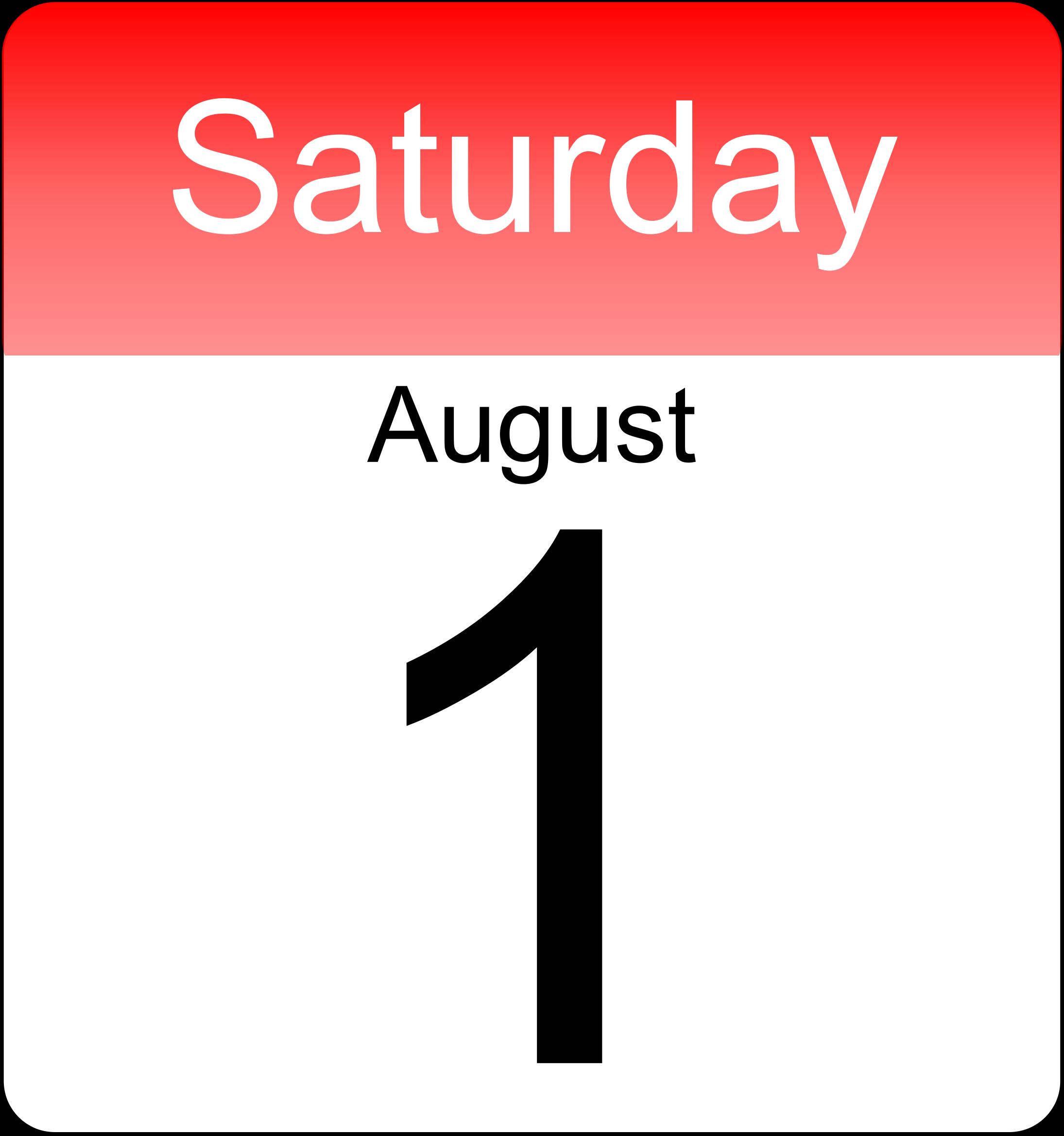 Big image png. Calendar clipart day