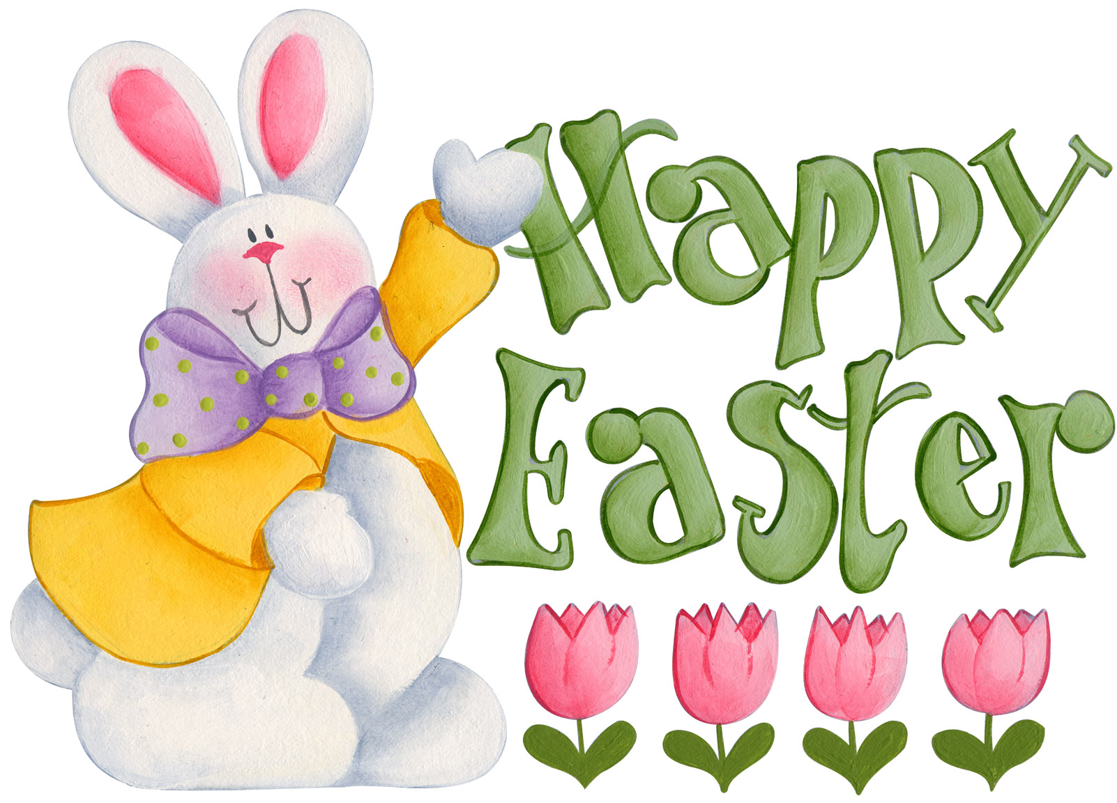 Happy easter images clip. Bunny clipart modern