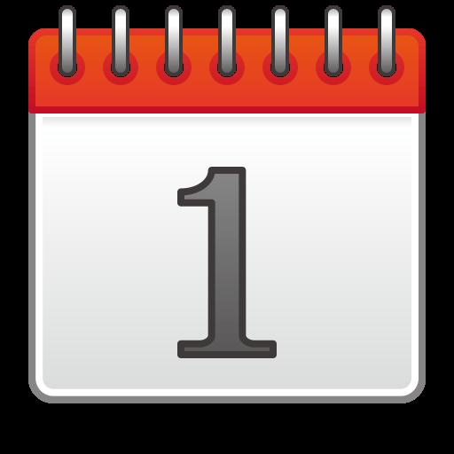 Spiral Calendar Pad Emoji for Facebook