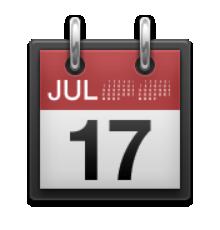 Ios tear off . Calendar clipart emoji