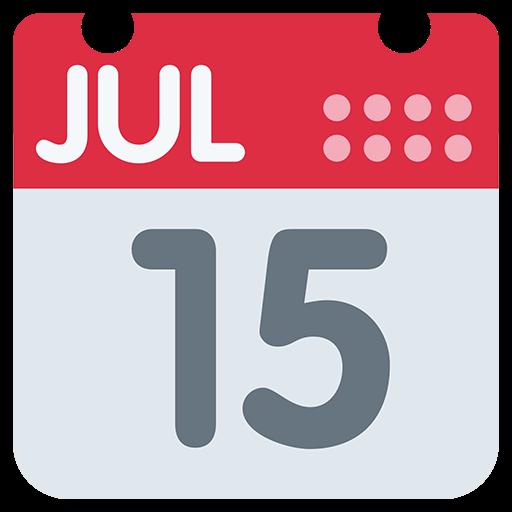 Calendar clipart emoji. List of twitter object