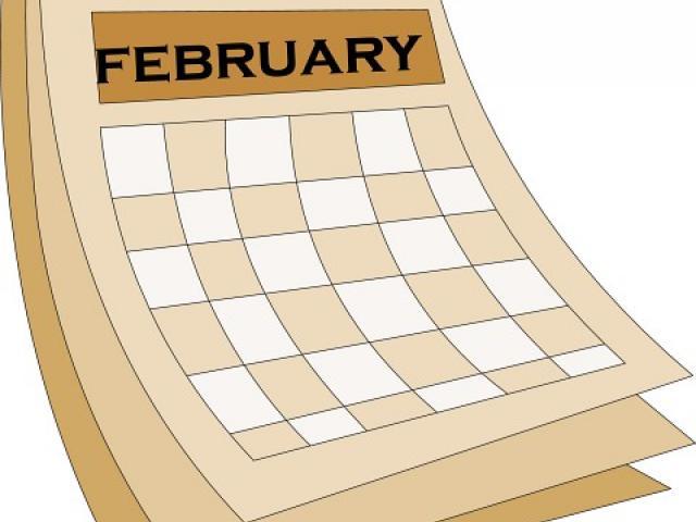 Calendar clipart february. November free download clip