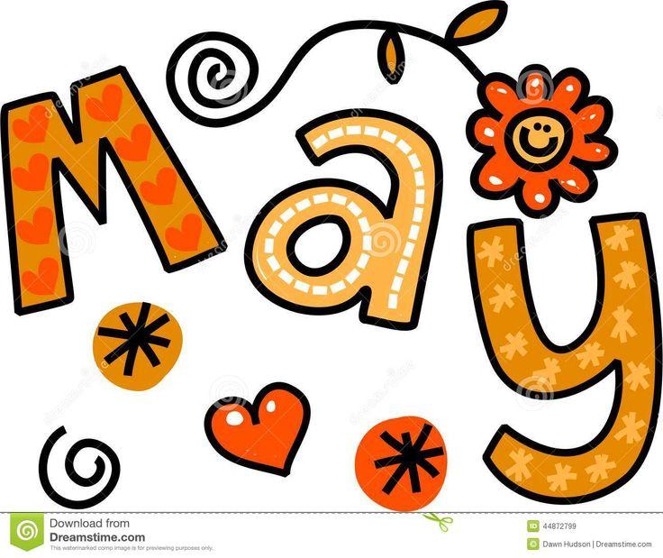 best months images. Calendar clipart kid