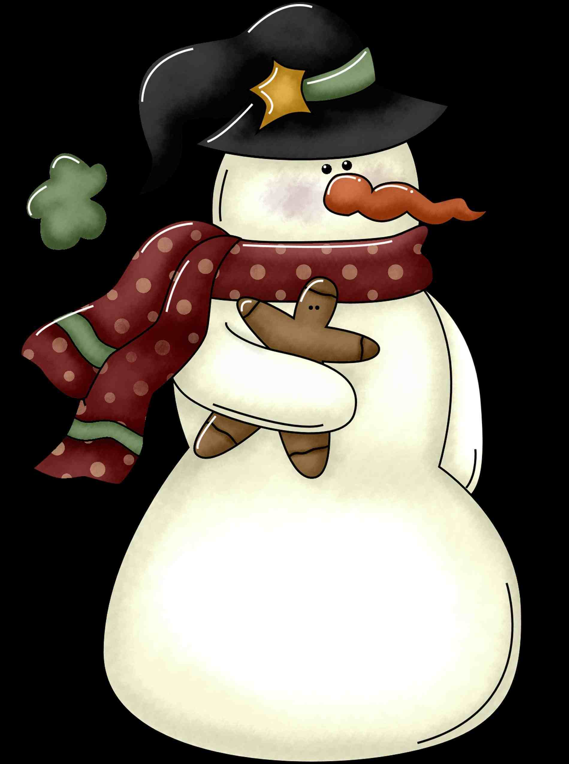Calendar clipart kid. Country snowman wine bottle