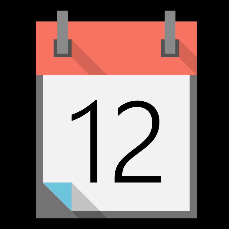 collection of high. Name clipart calendar