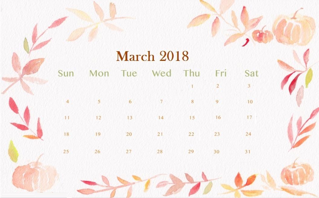 Wallpaper rudycoby net desktop. Calendar clipart march 2018