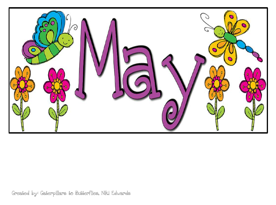 Calendar clipart may. Heading clip art library
