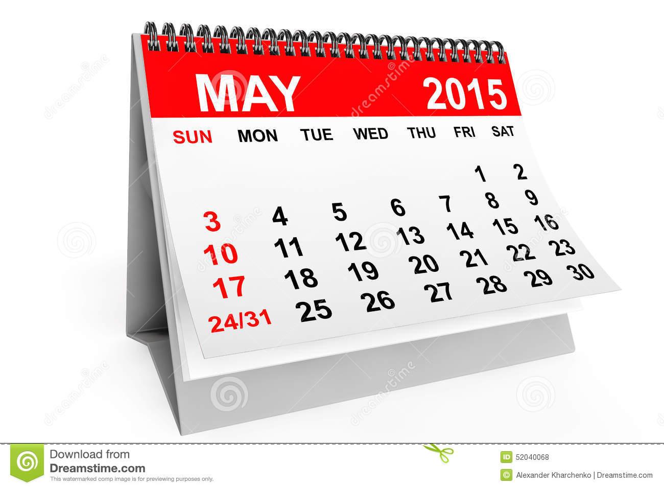 Calendar clipart may 2017. Desk clip art net