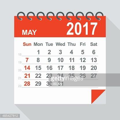 Illustration premium clipartlogo com. Clipart calendar may 2017