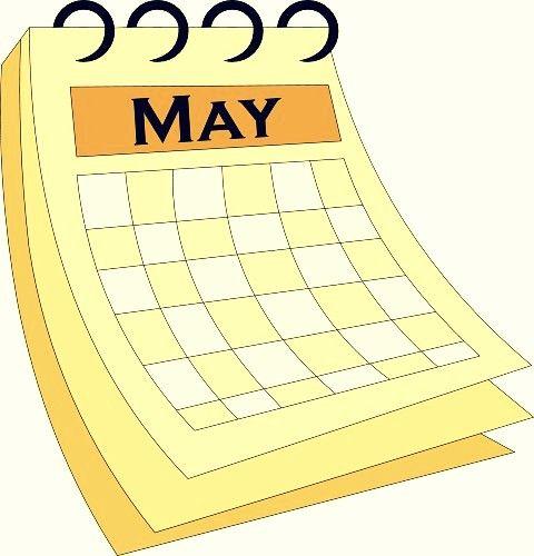 Calendar clipart may. Template printable calendars pinterest