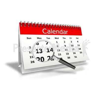 Magnify desk panda free. Calendar clipart month