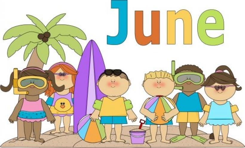 Of june clip art. Calendar clipart month