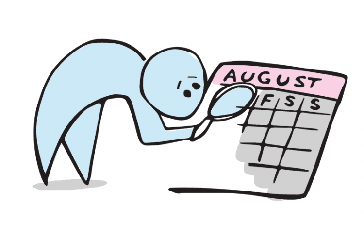 How do numbers work. Calendar clipart one week
