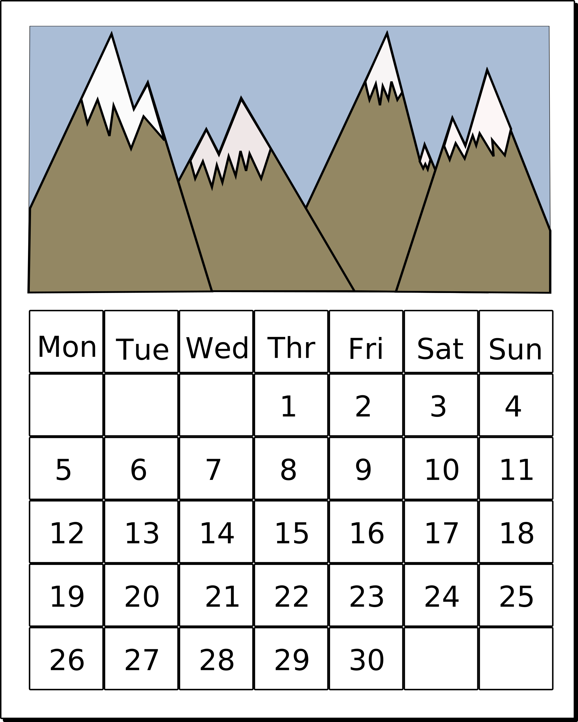 Of stem related seasonal. Calendar clipart one week