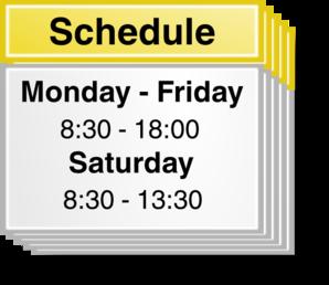 Calendar clipart scheduling. Schedule clip art free