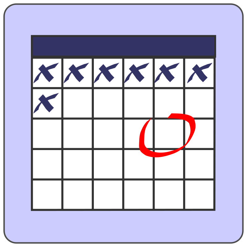 Free scheduling cliparts download. Schedule clipart calendar day