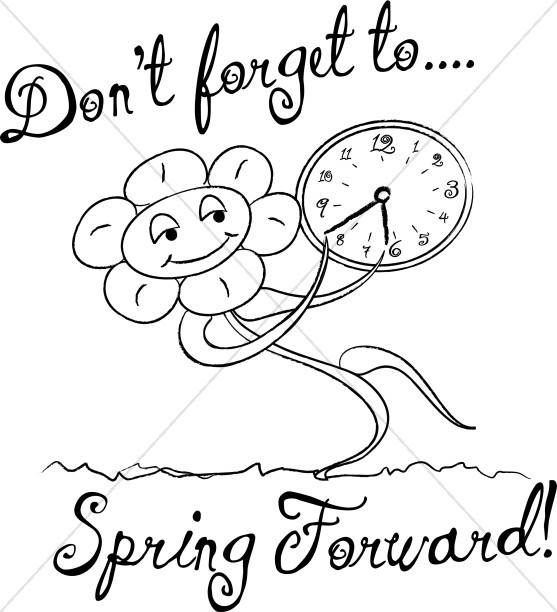 Calendar clipart spring. Forward with words in