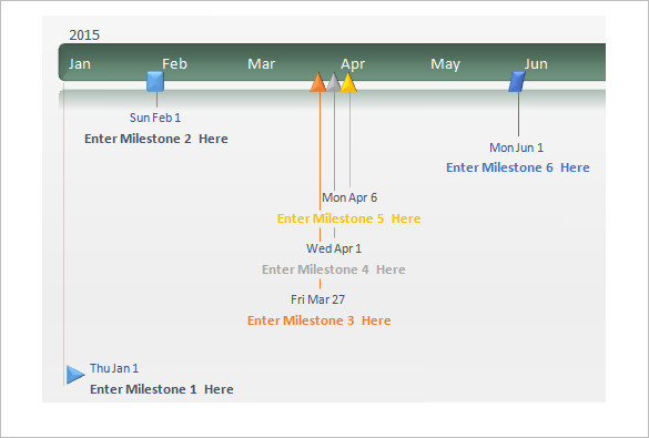 Powerpoint incep imagine ex. Calendar clipart timeline