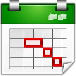 Actions view icon oxygen. Calendar clipart timeline