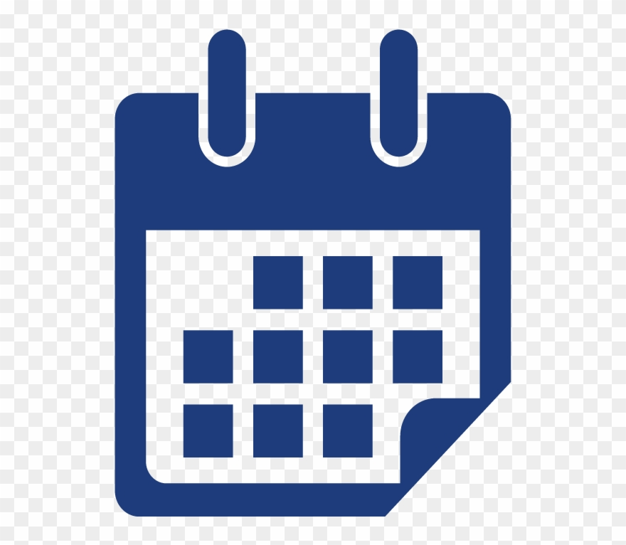 Calendar clipart timeline. Competition orange icon png
