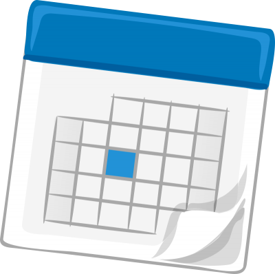 Download free png image. Calendar clipart transparent