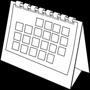 Calendar clipart vector. Clip art at clker