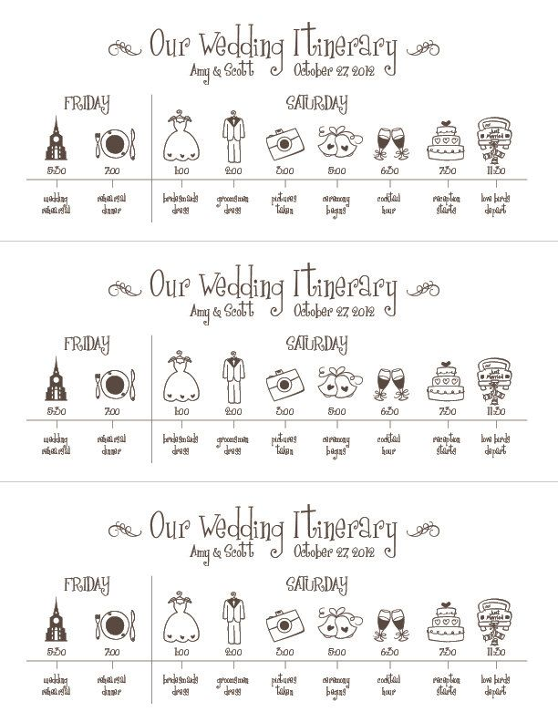 Calendar clipart wedding. Timeline printable digital file