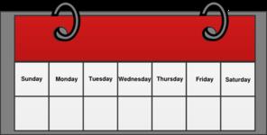 Calendar Clip Art at Clker