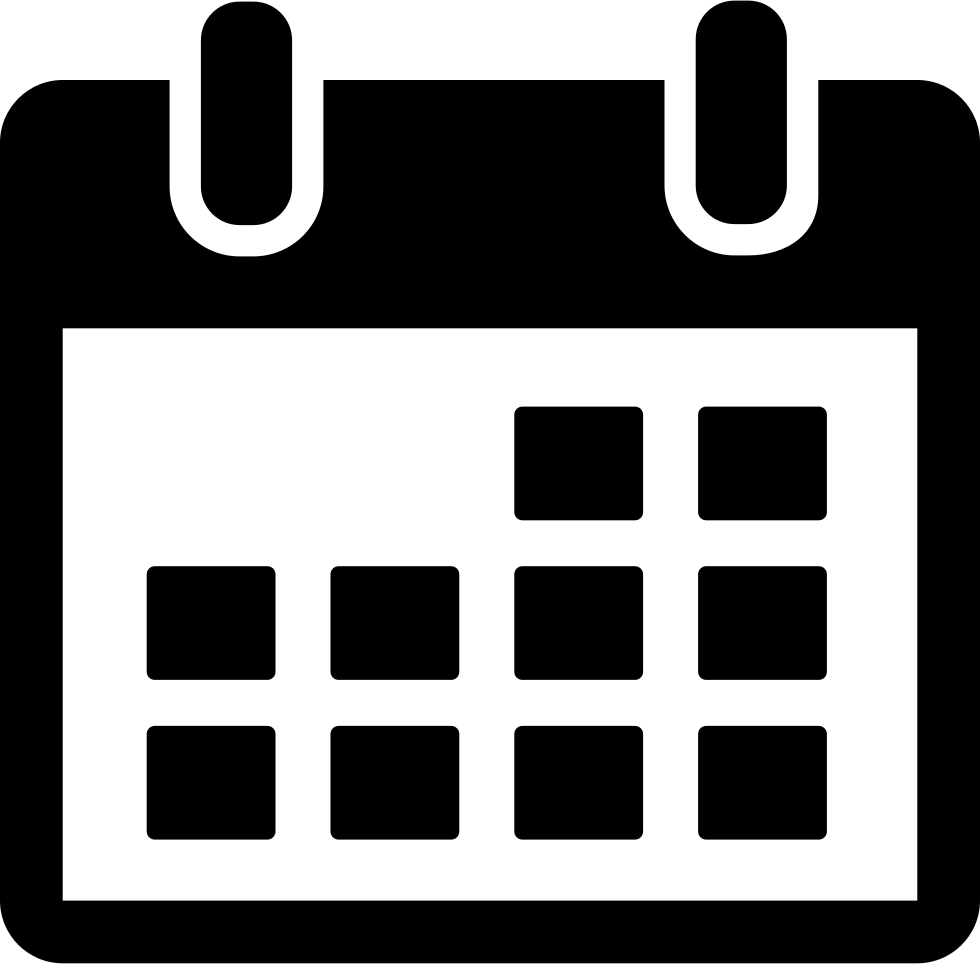 Calendar icon png transparent. Svg free download onlinewebfonts