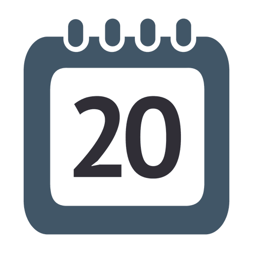 Calendar icon png transparent.  th day svg