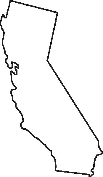 Outline clip art google. California clipart