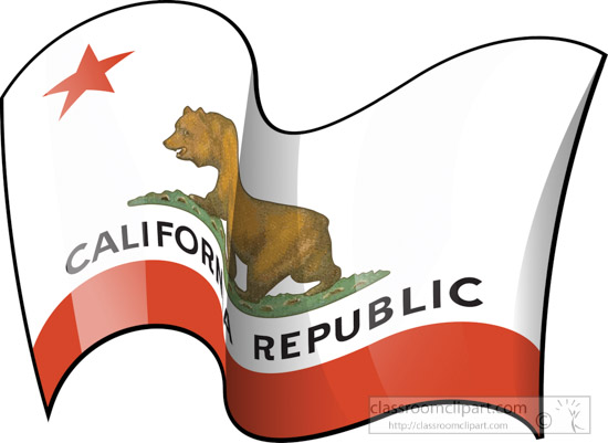 California clipart animated. Fifty states illustrations graphics