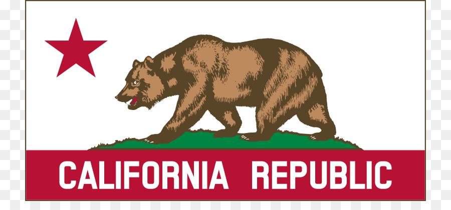 California clipart bear grizzly california. Republic flag of cliparts