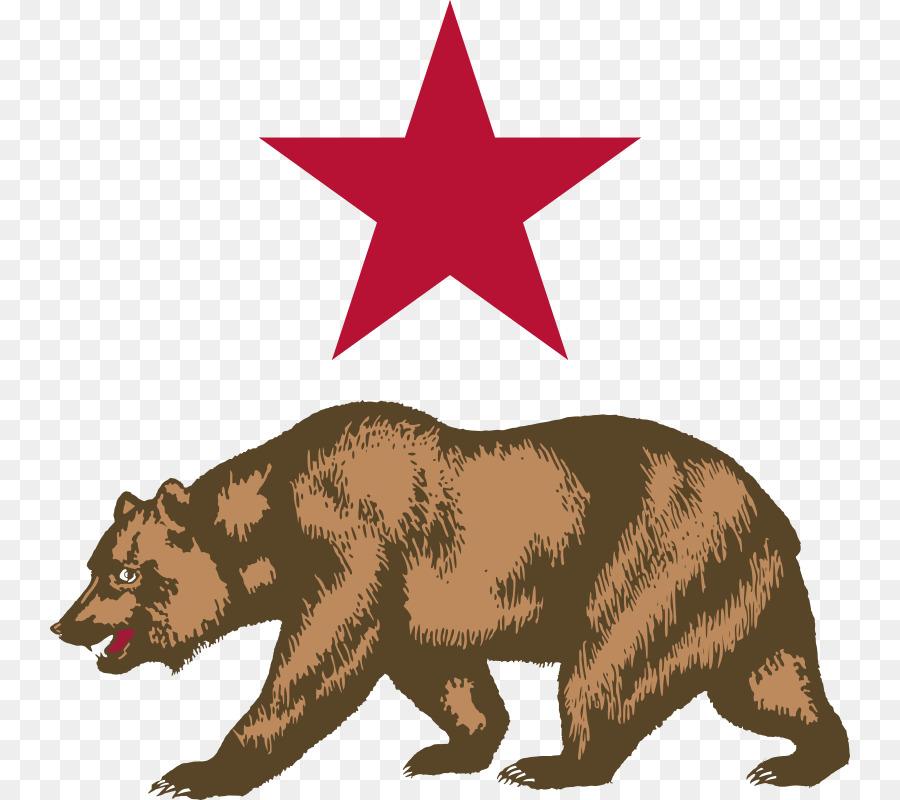California clipart bear grizzly california. Wildlife illustration