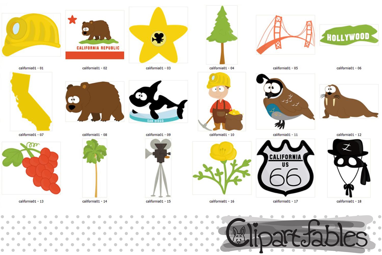State bear instant art. California clipart cute