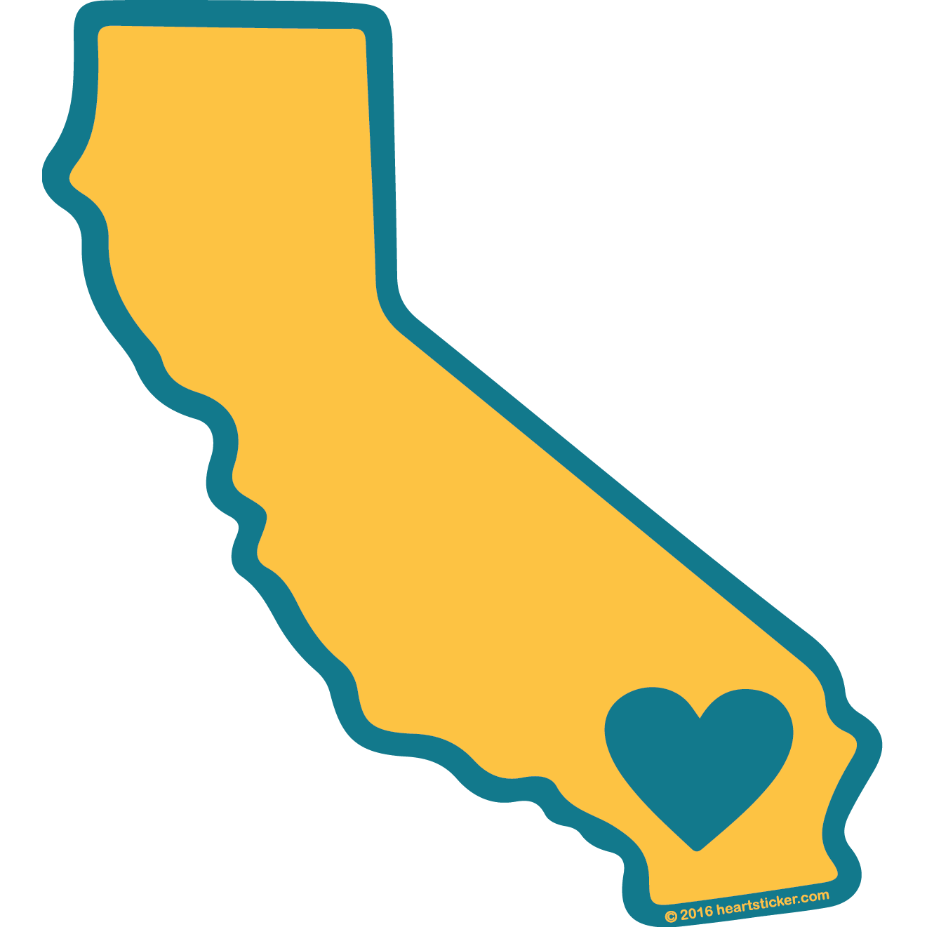 Georgia clipart sticker. Heart in california show