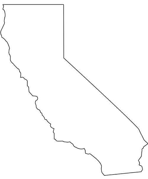 California clipart shape.  images of template