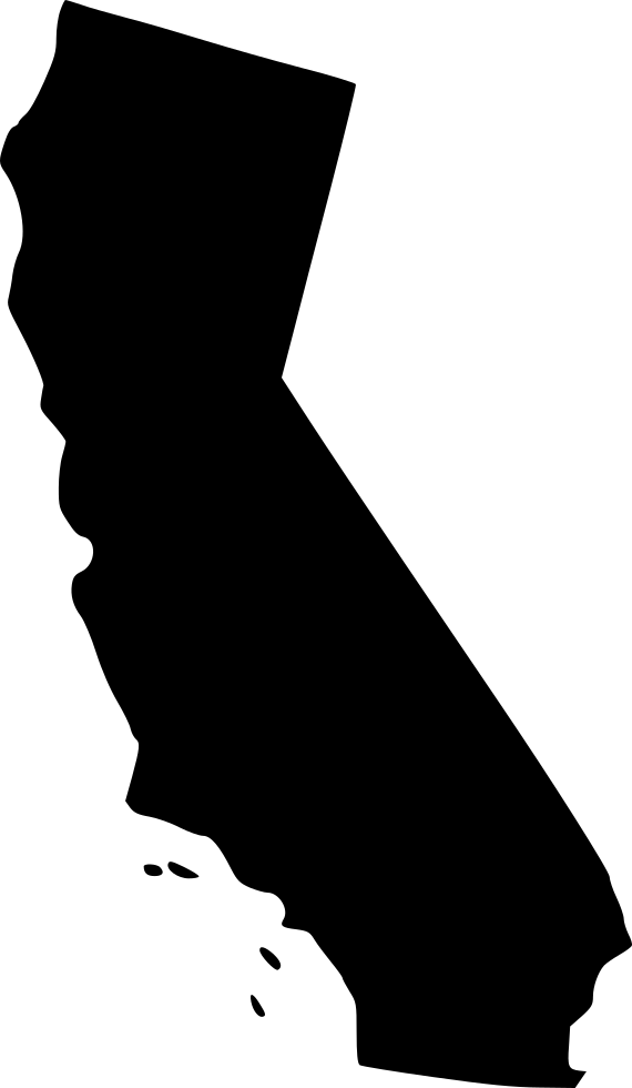 California clipart silhouette. Images gallery for free