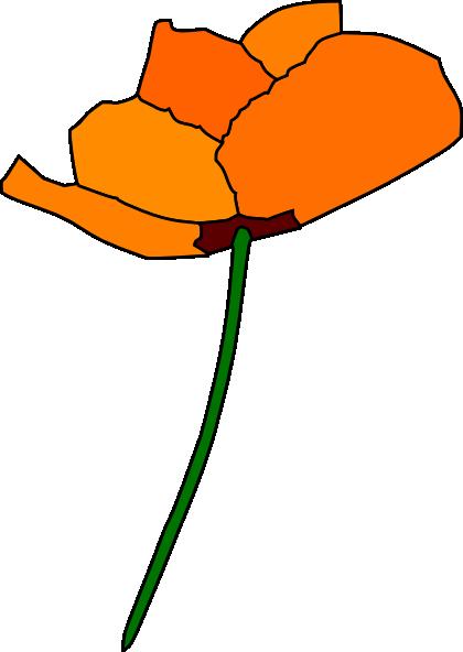 California clipart state california flower. Poppy clip art at