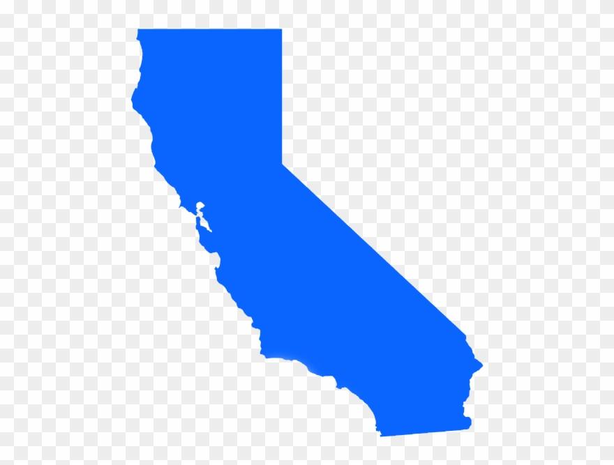 Image map no background. California clipart transparent