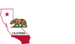 State of with bear. California clipart vector