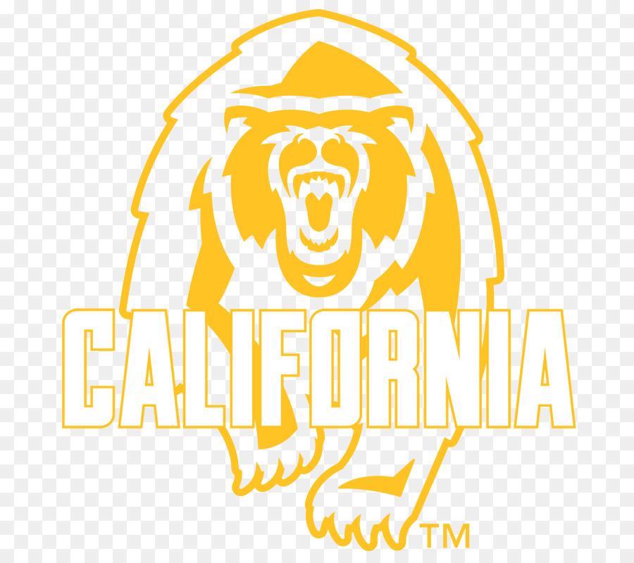 California clipart yellow. Bear text transparent