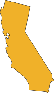 California clipart yellow. Free map cliparts download