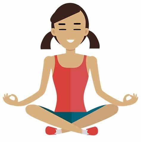 Yoga x free clip. Calm clipart