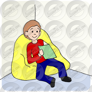 Calm clipart. Spot picture for classroom
